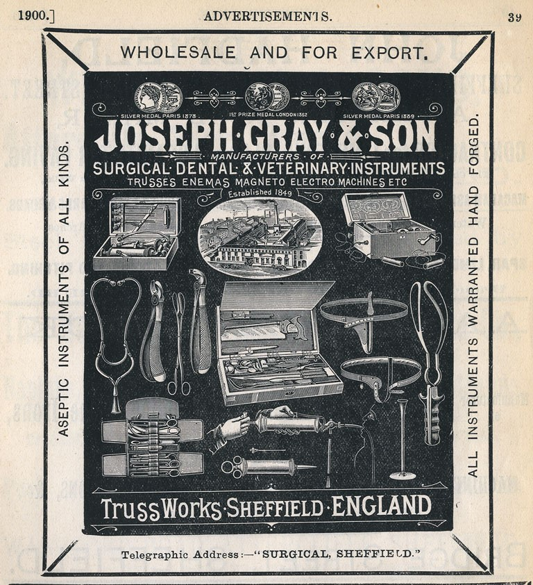 Joseph Gray Advert