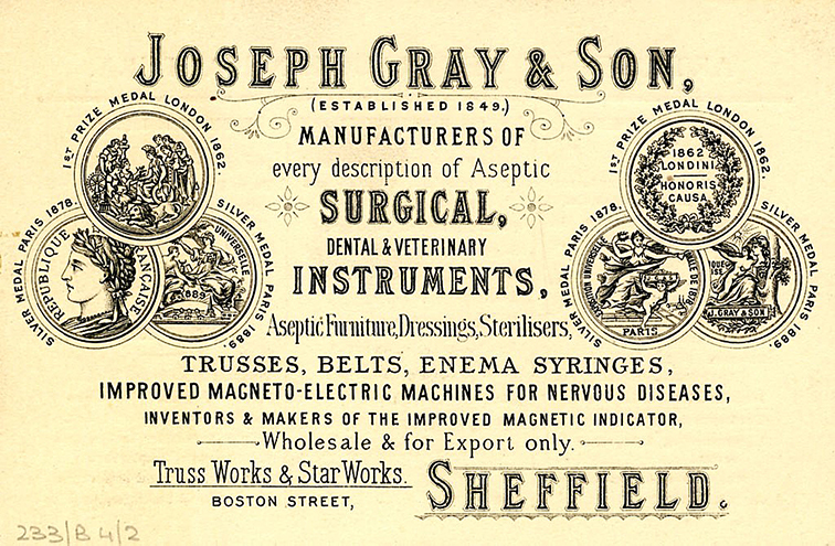 History of Surgical Instruments in the UK | Platts & Nisbett