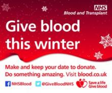 Give Blood, the best gift of all this Christmas